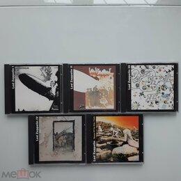 Музыкальные CD и аудиокассеты - CD LED ZEPPELIN серия BiG RUSSIA NM / NM 5CD / 6 ALBUMS, 0