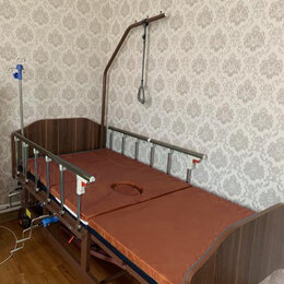 Устройства, приборы и аксессуары для здоровья - Кровать для лежачих больных функционал медицинская, 0