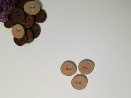 Рукоделие, поделки и товары для них - пуговицы деревянные ручной работы, 0