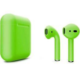 Наушники и Bluetooth-гарнитуры - Беспроводные наушники Apple AirPods 2 Custom…, 0