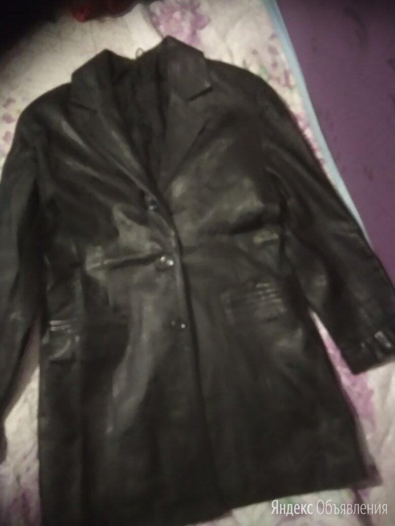 пиджак из натуральной кожи по цене 1200₽ - Пиджаки, фото 0