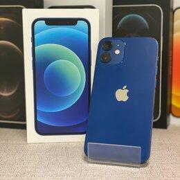 Мобильные телефоны - iPhone 12 mini Blue 64gb б/у Ростест, 0