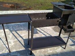 Грили, мангалы, коптильни - Печь под казан с мангалом и откидным столиком…, 0