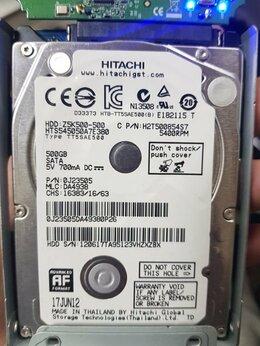 Внутренние жесткие диски - Жесткий диск 2,5 Hitachi 500GB Sata б/у, 0