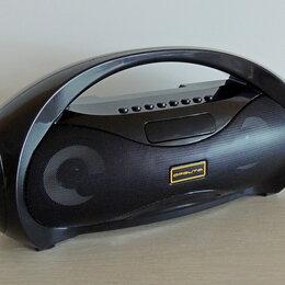 Акустические системы - Bluetooth колонка с FM-радио и karaoke, 0