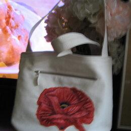 Сумки - сумки из кожи и кожзама, от белой до чёрной, 0