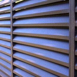 Архитектура, строительство и ремонт - Забор Жалюзи металлический GL 0,5 RAL 8012, 0