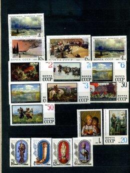 Марки - Коллекция марок искусство СССР в большом альбоме, 0