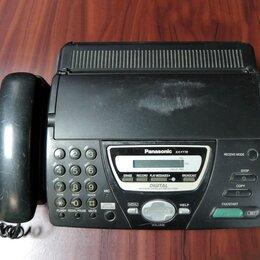 Системные телефоны - Факс Panasonic KX-FT78, 0