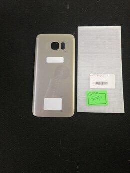 Корпусные детали - Задняя крышка Samsung S7 Edge gold, 0
