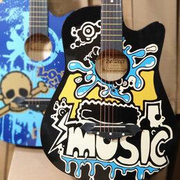 Акустические и классические гитары - Гитара Belucci акустическая, 0