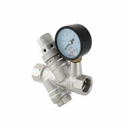 Прочее сетевое оборудование - Редуктор давления с фильтром и манометром VALTEC…, 0