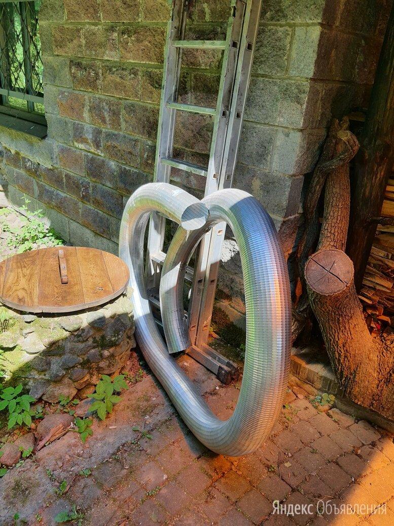 Гибкий дымоход газоход труба для печки по цене 5000₽ - Дымоходы, фото 0