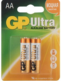 Батарейки - Батарейка GP LR 6 15AU Ultra [тип: АА; к-т:…, 0