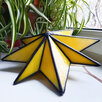 Ночник Вифлеемская звезда из витражного стекла по цене 15000₽ - Настенно-потолочные светильники, фото 7