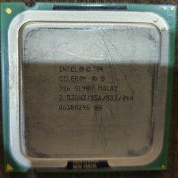 Процессоры (CPU) - Процессор intel celeron d, 0