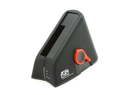 "Внешние жесткие диски и SSD - Докстанция 2.5""/3.5"" SATA AgeStar SUBT (BLACK) USB, 0"