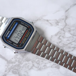 Наручные часы - Casio A-168WA-1/Casio A-168WEM-7, 0