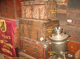 Другое - Сундук старый кованый сундуки из дерева с росписью, 0