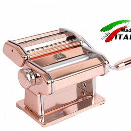 Пельменницы, машинки для пасты и равиоли - Marcato Design Atlas 150 Rame ручная тестораскаточная машина - лапшерезка, 0