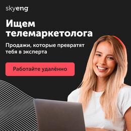 Телемаркетолог - Оператор колл-центра SkyEng, 0