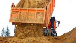 Строительные смеси и сыпучие материалы - Песок, пгс с доставкой от 1 куба (1266), 0