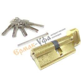 Замки - Механизм цилиндр.Apecs 70мм (кл-зав) золото SM-70(30С/40)-С-G, 0