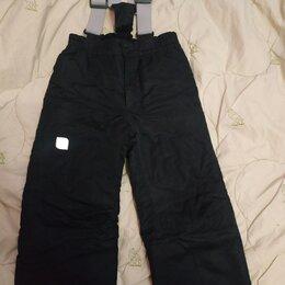 Полукомбинезоны и брюки - Детские демисезонные штаны с влагоотталкивающей пр, 0