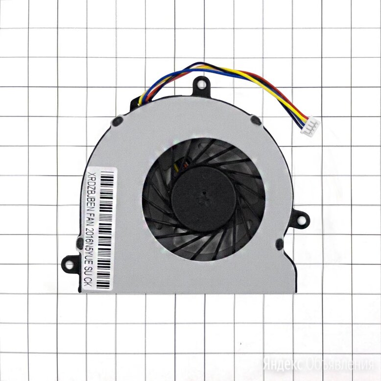 Кулер для ноутбука HP 15-BA044UR (вентилятор) по цене 420₽ - Аксессуары и запчасти для ноутбуков, фото 0