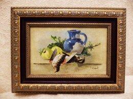 Картины, постеры, гобелены, панно - КАРТИНА -НАТЮРМОРТ- ПЕРЕПЕЛА -40,5 х 30,5 см…, 0