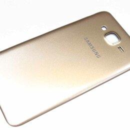 Корпусные детали - Задняя крышка Samsung Galaxy J7 SM-J700DS золото, 0