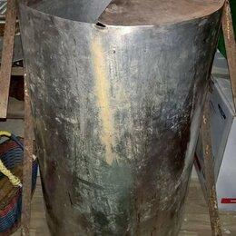 Бочки, кадки, жбаны - Бак из нержавеющей стали D-50см, высота 83,5см., 0