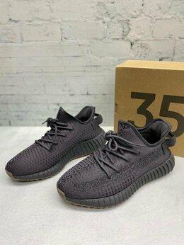 Кроссовки и кеды - Кроссовки Adidas Yeezy Boost 350 V2 Black , 0