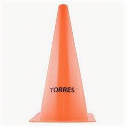 Жетоны, медали и значки - Конус трен. «TORRES» арт. TR1004, пластик, выс.38 см, оранжевый, 0