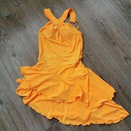 Платья - Платье бальное/латироамериканское/хастл оранжевое, 0