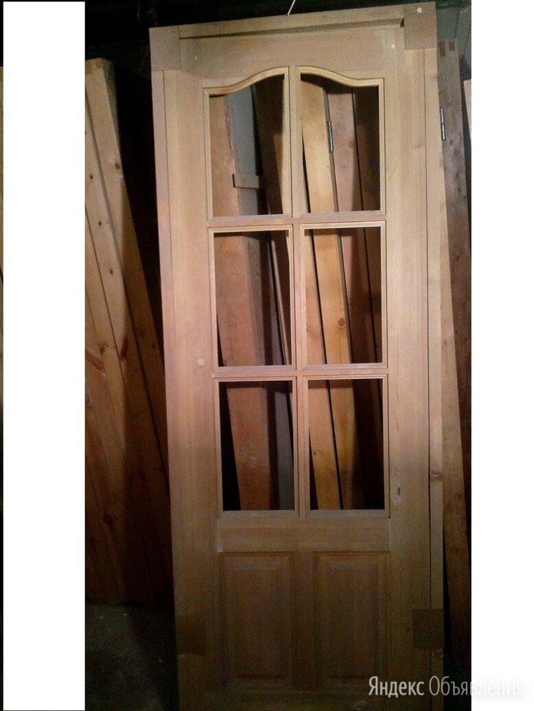 Дверь филенчатая до21-7 неокрашенная по цене 1500₽ - Межкомнатные двери, фото 0