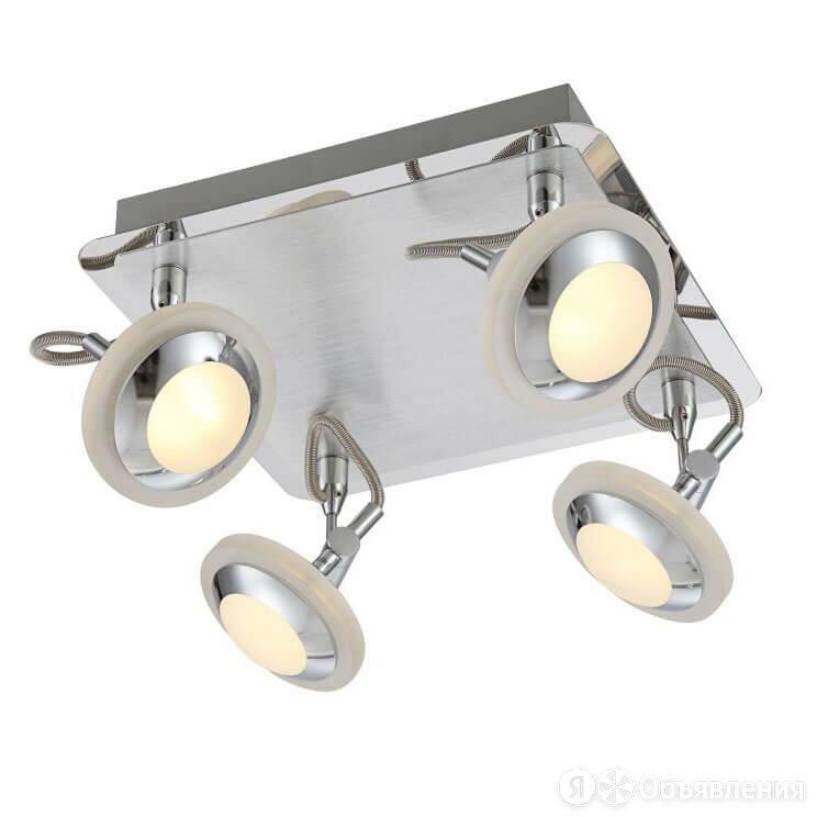 Светодиодный спот Globo Tommy 56955-4 по цене 20220₽ - Люстры и потолочные светильники, фото 0