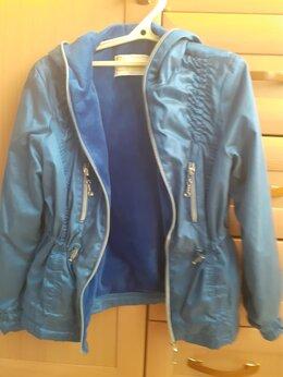 Куртки и пуховики - Ветровка для девочки на флисе, 0