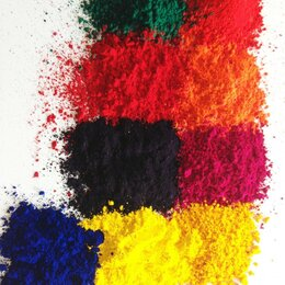 Промышленная химия и полимерные материалы - Красители для окрашивания тканей натуральных хб лён и др. шерсти искусственных, 0