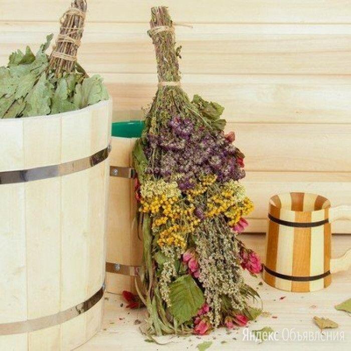 Веник для бани «Травяной коктель» из донника, полыни и пижмы 3969799 по цене 399₽ - Аксессуары, фото 0