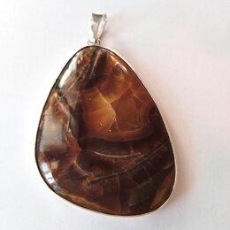 Кулоны и подвески - Кулон с симбирцитом в серебре ручной работы, 0