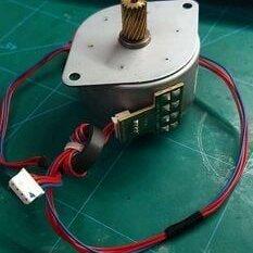 Аксессуары и запчасти для оргтехники - Мотор шаговый Принтера M55SP-2NK 5.6-2K mitsumi, 0