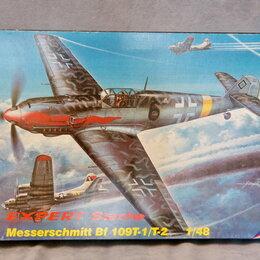 Сборные модели - 1/48 сборная модель самолета Мессершмитт 109Т-1/Т-2 палубный МПМ 48043, 0