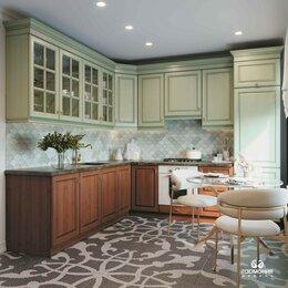 Мебель для кухни - Кухня до потолка с фасадами из массива. Кухня на…, 0
