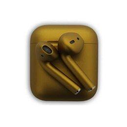 Наушники и Bluetooth-гарнитуры - Apple AirPods (New Dark gold) Беспроводные наушники в футляре с возможностью ..., 0