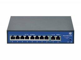 Проводные роутеры и коммутаторы - Switch POE 8-ми портовый 10 Ethernet портов (8…, 0