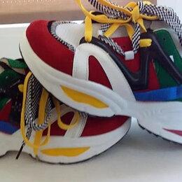 Обувь для спорта - НОВЫЕ ЯРКИЕ КРОССОВКИ 39 размер на 38-38,5, 0