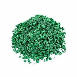 Садовые дорожки и покрытия - Темно-зеленая EPDM крошка, 0