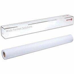 Комплектующие для плоттеров - Рулон для плоттера 297 мм х 50 м х втулка 50,8 мм, 80 г/м2, белизна CIE 164%,..., 0