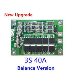 Радиодетали и электронные компоненты - BMS плата защиты контроллер заряда 1S-5S, 0